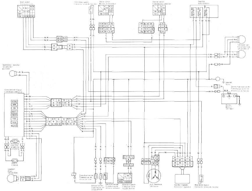 yamaha maxim xj750 wiring diagram