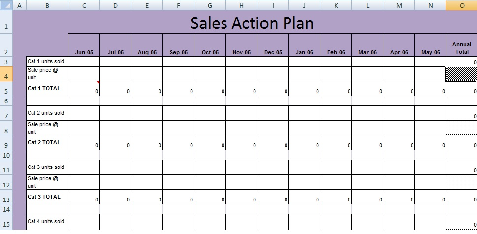 Get Sales Action Plan Template XLS - Free Excel Spreadsheets and - sales plan format