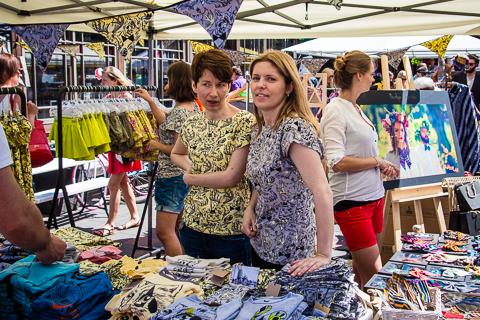 Modes un dizaina diena Kalnciema ielas kvartālā