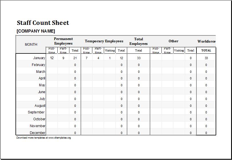 Excel Tally Sheet Template - Costumepartyrun