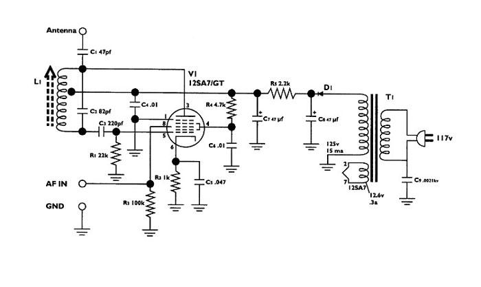 am transmitter schematic