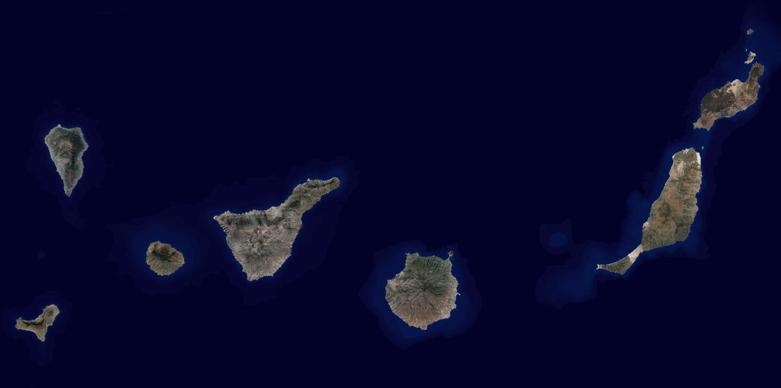 Ortofoto Tenerife