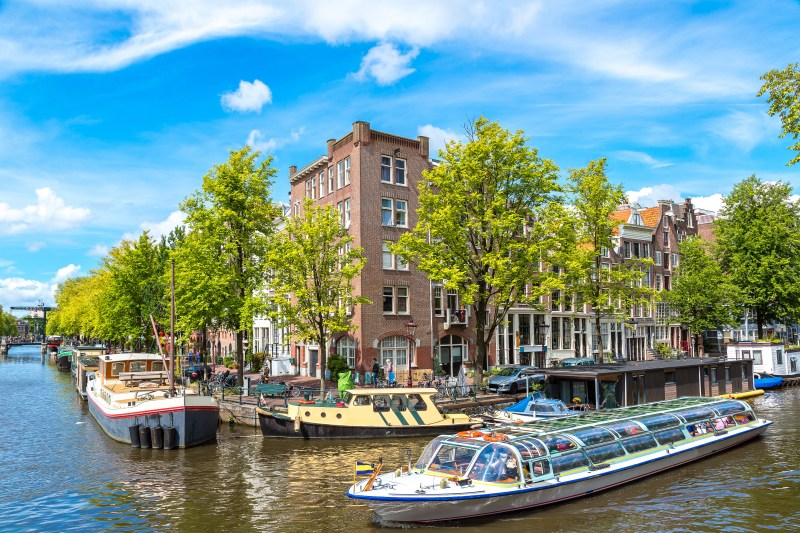 Canals of Amsterdam. Amsterdam is the capital and most populous city of the Netherlands