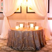 Wedding Sweetheart Table Decor Photograph | Click on image t