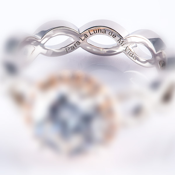 Xomox jewelry inc nyc laser engraving personalize your jewelry we engrave messages in all languages custom symbols designs need help with engraving ideas click here for inspiration aloadofball Image collections