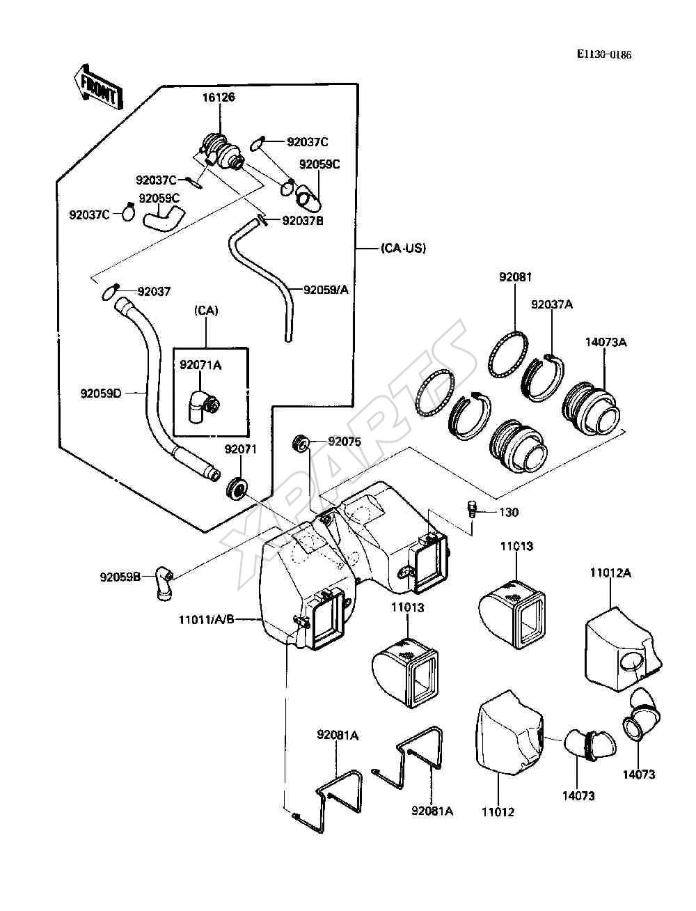 1987 Ford Ltd Fuse Box Diagram Auto Electrical Wiring Renault Megane In Engine Bay 1986 Kdx80 U2022 Mifinder Co