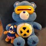 Finished Cyclops and Cap bears.