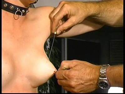 tit torture with nails