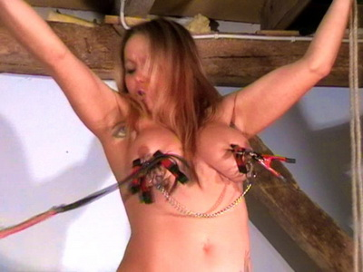 women nipple small tit torture