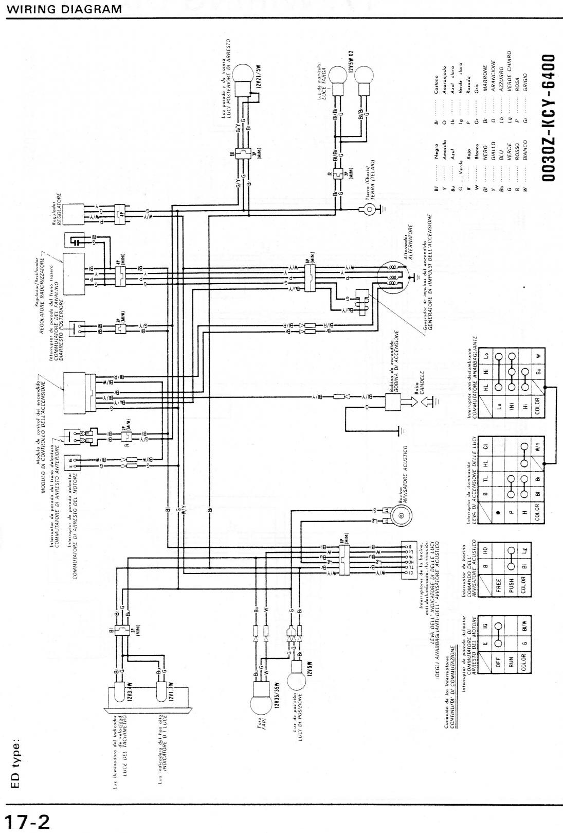 whizzer wiring diagram