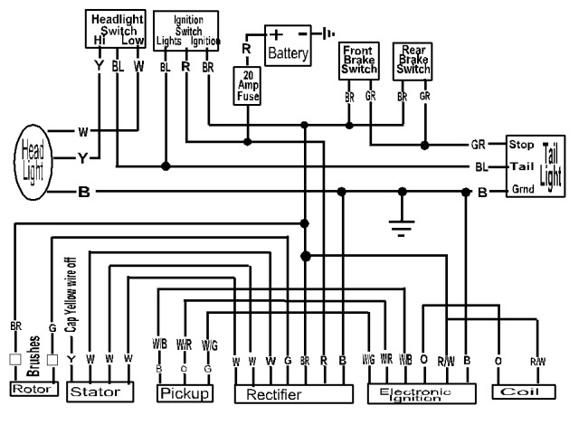 pamco ignition wiring diagram