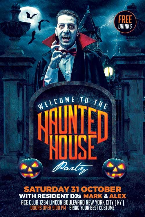 Halloween Flyer Template PSD Download - XtremeFlyers - halloween flyer template