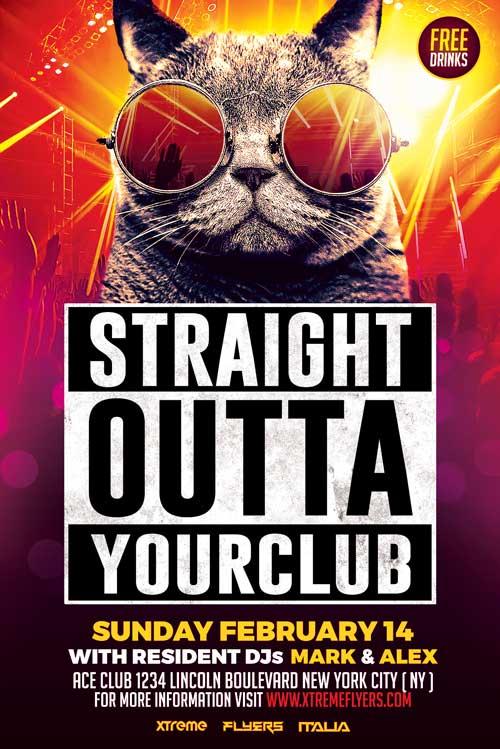 night club flyers - Tolequiztrivia
