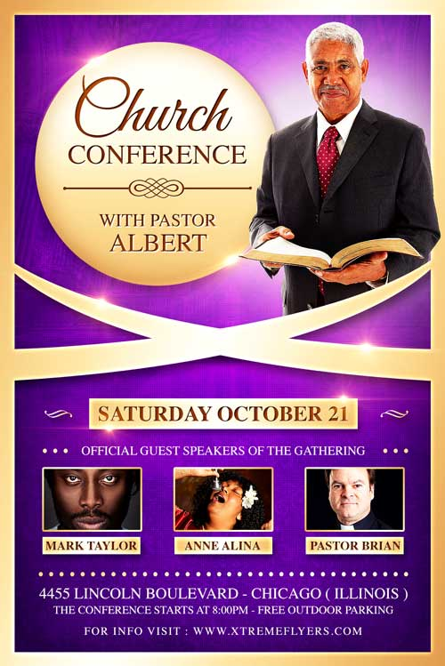 Church Conference Flyer Template - XtremeFlyers