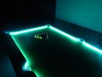 LED American Pool Table Hire For Events - London   Kent