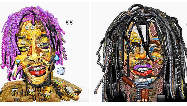 Glo Gang Iphone Wallpaper Chief Keef And Wiz Khalifa Create Dope Portraits Using