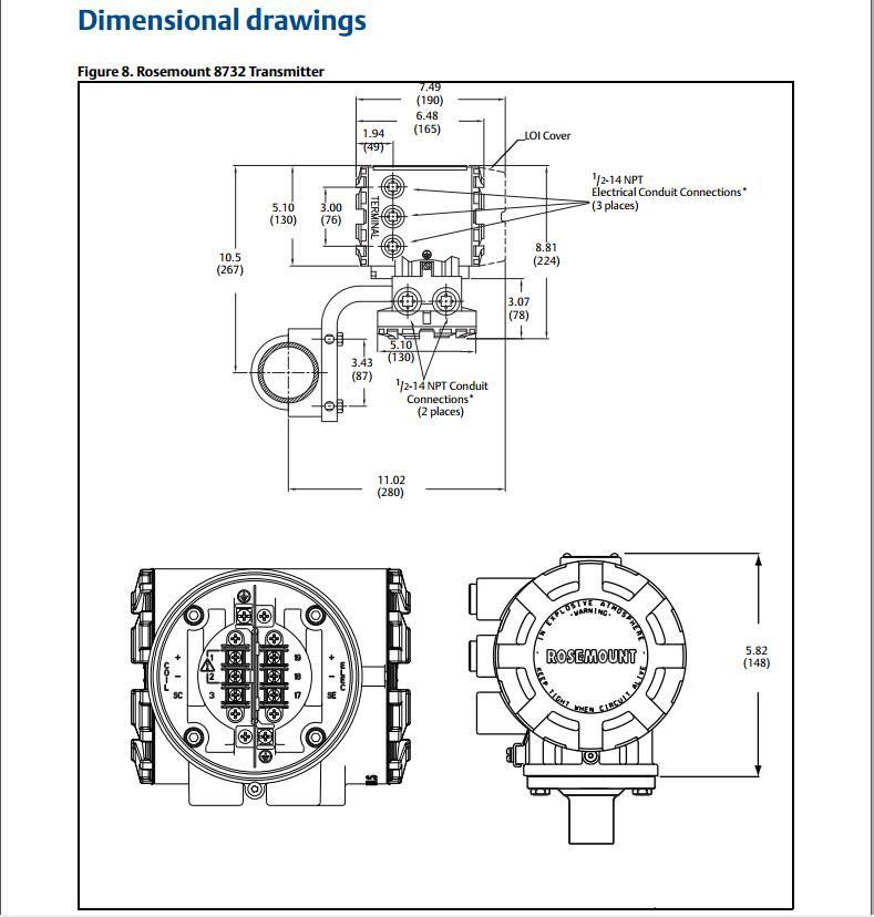rosemount 8705 wiring diagram