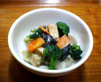 根菜のクリーム煮