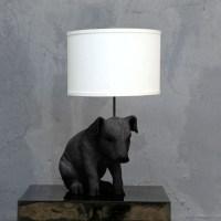 Pig Lamp (Black)