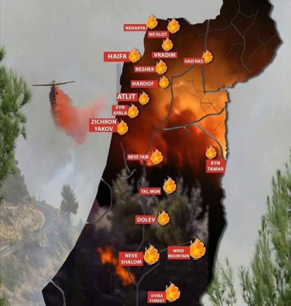 israel-fires