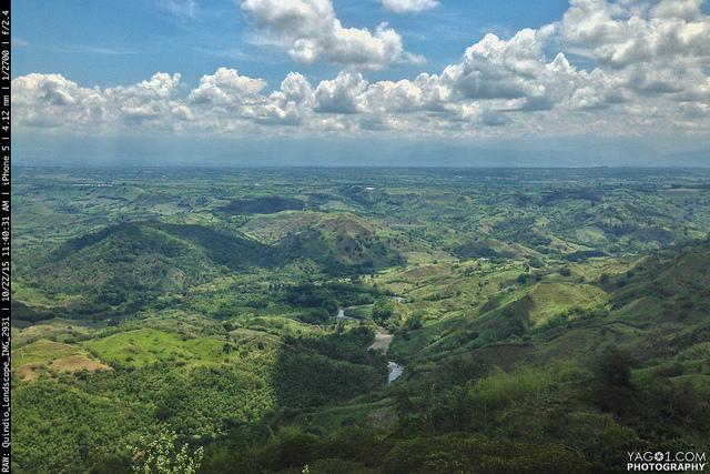 Quindio - Eje Cafetero, Colombia landscape