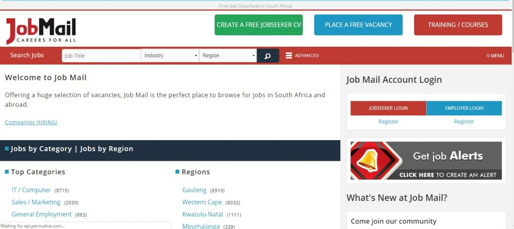 11 best job sites in South Africa - Screenshot, Features, Guide