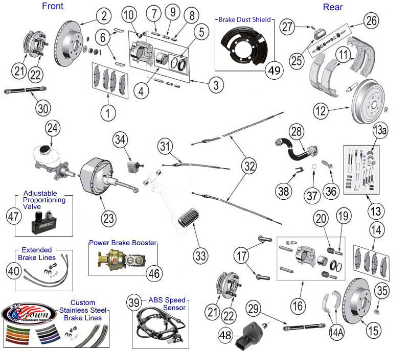 car engine diagram with descriptions
