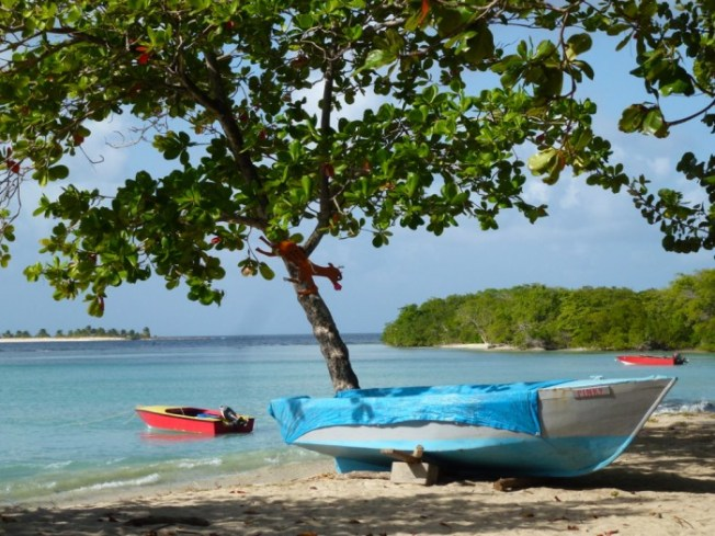 Paradise Beach, Carriacou (one of the 3 islands which make up the state of Grenada)