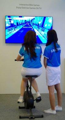 Olahraga dengan Smart TV