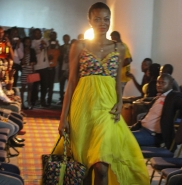 Fashion show at Museum of contemporary art Kinshasa