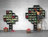Book  Open Shelving System by Daniele Lago | Yanko Design