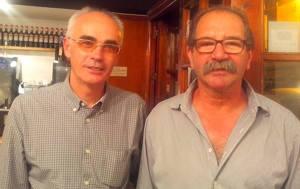 Diego L'entrepa con Paco de Yantarplus