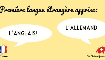 Apprentissage langues étrangères suisse vs france