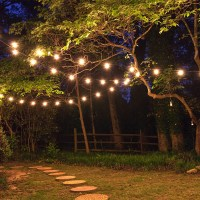 How To Hang Patio Lights - Yard Envy