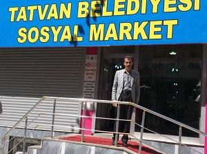 Tatvan'daki bu markette para gecmiyor