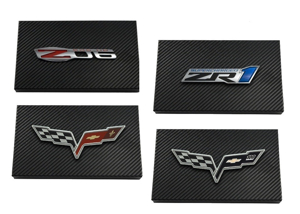 2005-2013 Corvette Black Carbon Fiber Steel Fuse Box Cover - Choice