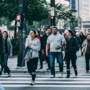 10.27.16 - Pedestrians Crossing Road