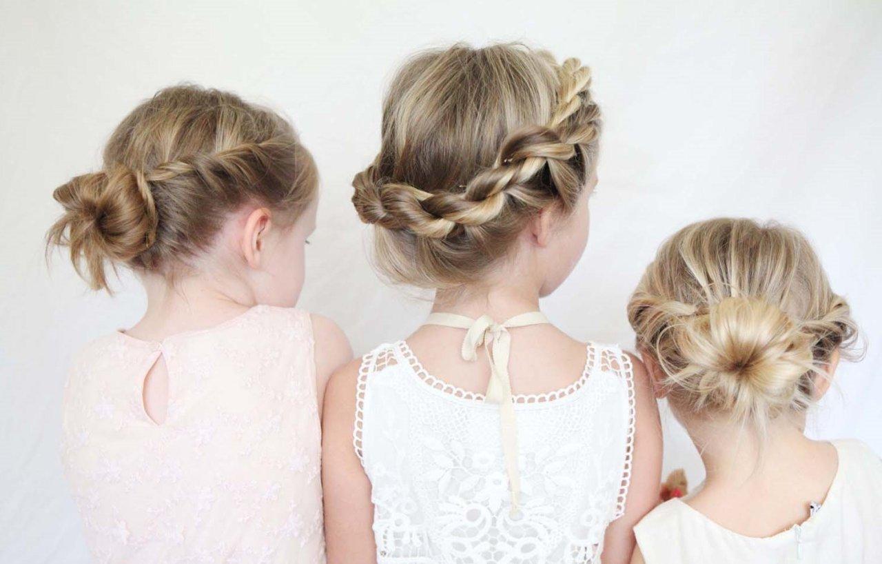 Прически короткие волосы для девочки 6 лет