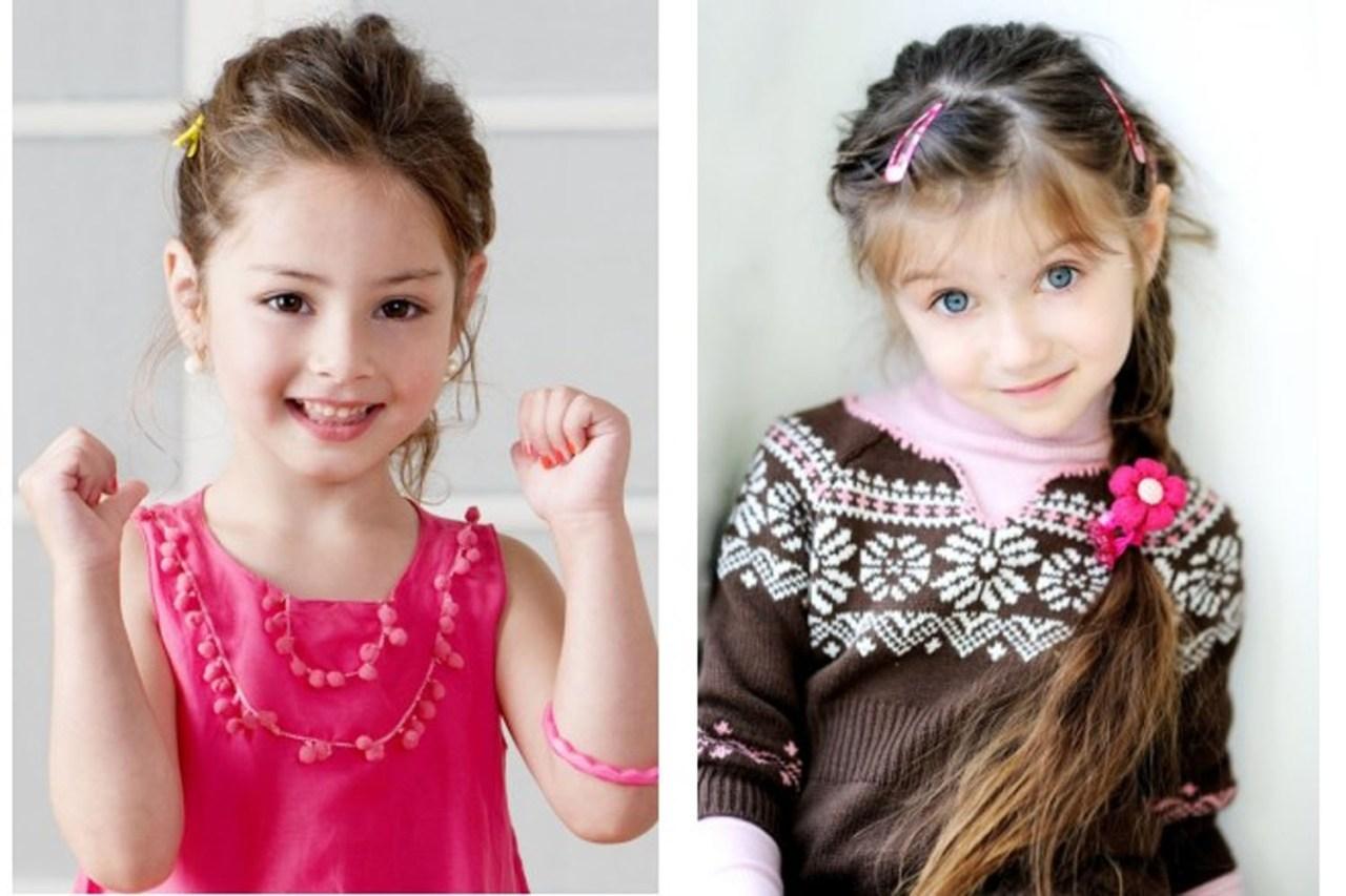 прически модные 2015 для малышек