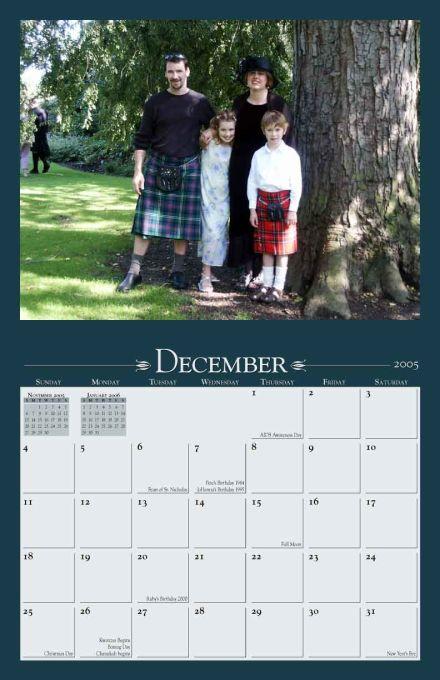 Wall Calendar Designs - Yearbox Calendars