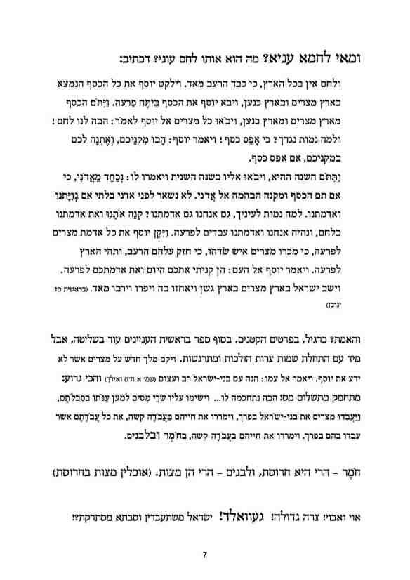 הגדה זמנית - עמוד 7