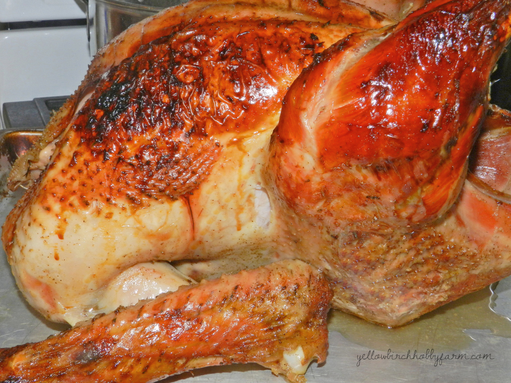 Perfect Roast Turkey (adapted from the Bride & Groom First and Forever ...