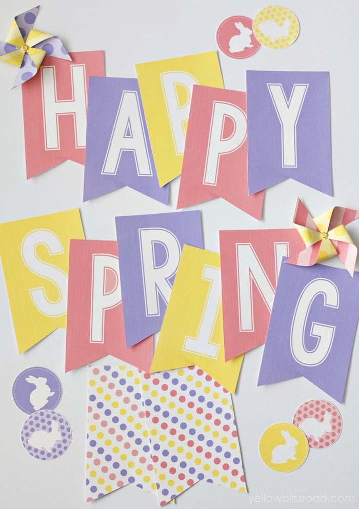 Free Spring Printable - Yellow Bliss Road