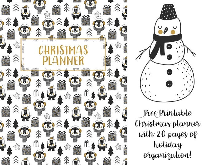 Christmas Planner (Free Printable Planner) YellowBlissRoad
