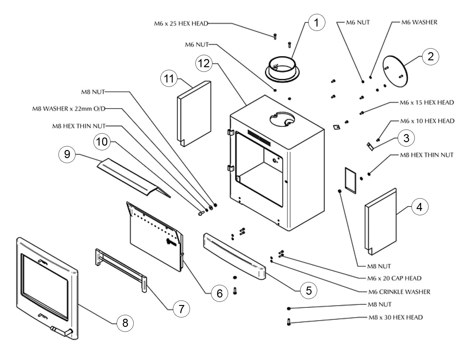 wiring diagram for stove plate