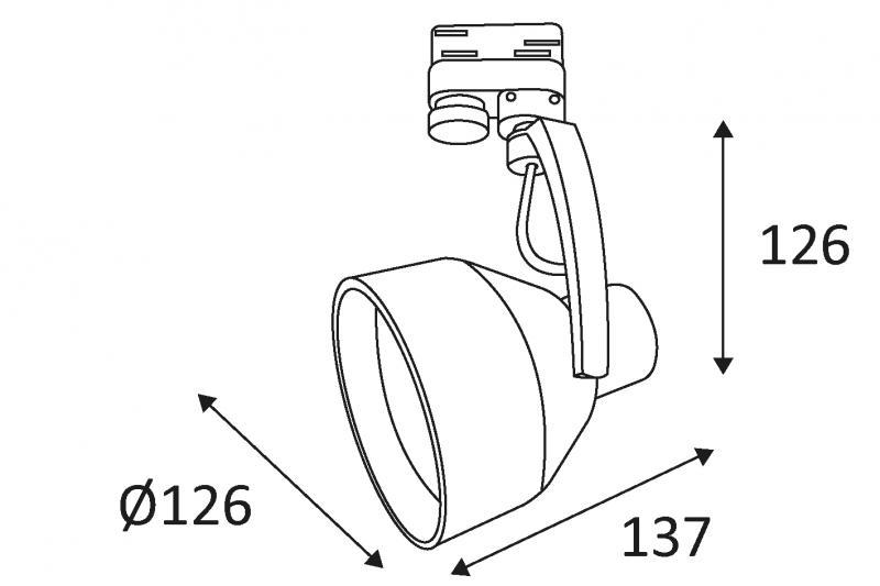 100 watt spotlight bedradings schema