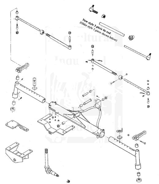 farmall super a rear axle diagram