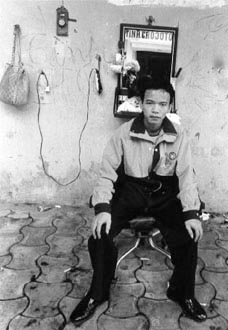 Tinh the Barber, by Karen Davis