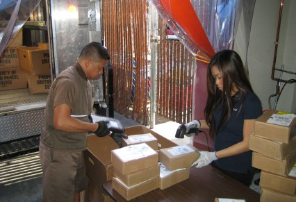 Receiving Order Shipment