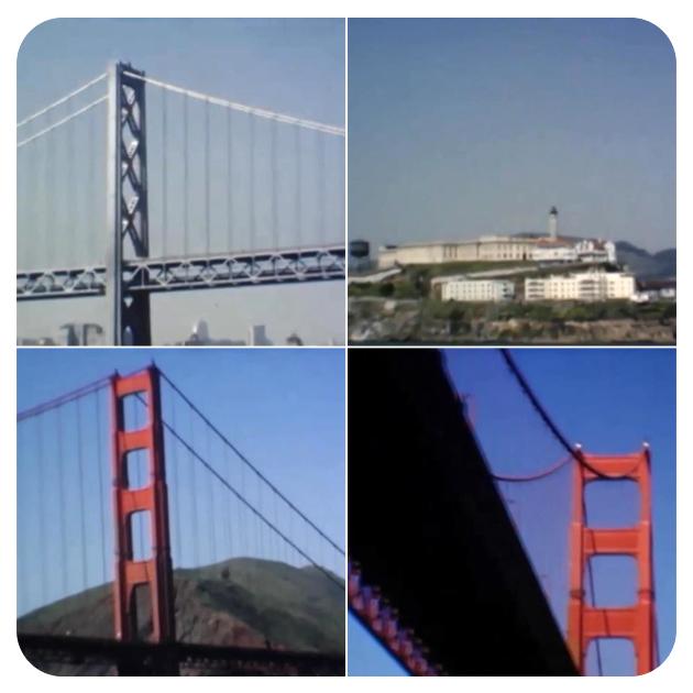 San Francisco - Bay Bridge, Alcatraz & Golden Gate Bridge